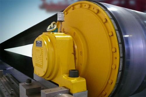 bulkgoederen trommelmotor