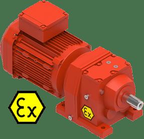 ATEX motoren aandrijftechniek Euronorm